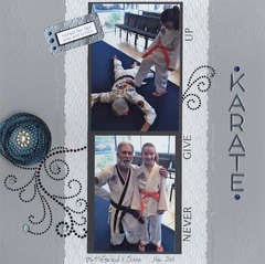 Karate for Siara
