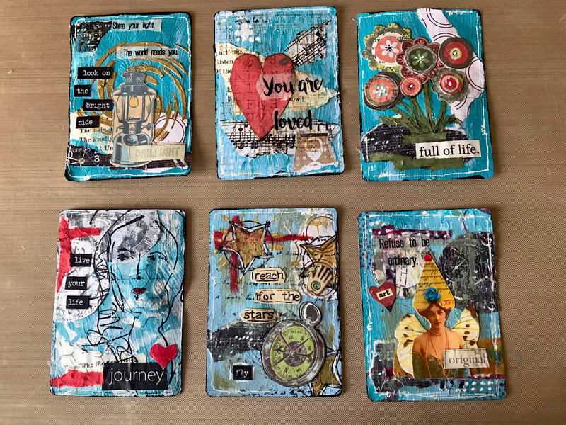 Altered Cards 1