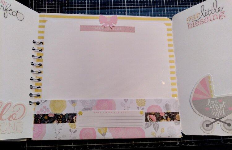 Handmade Baby Photo Journal
