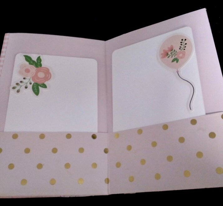Inside photo journal album