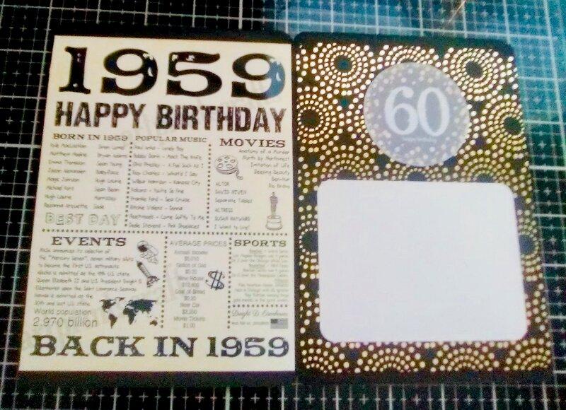 Inside - simple bday card