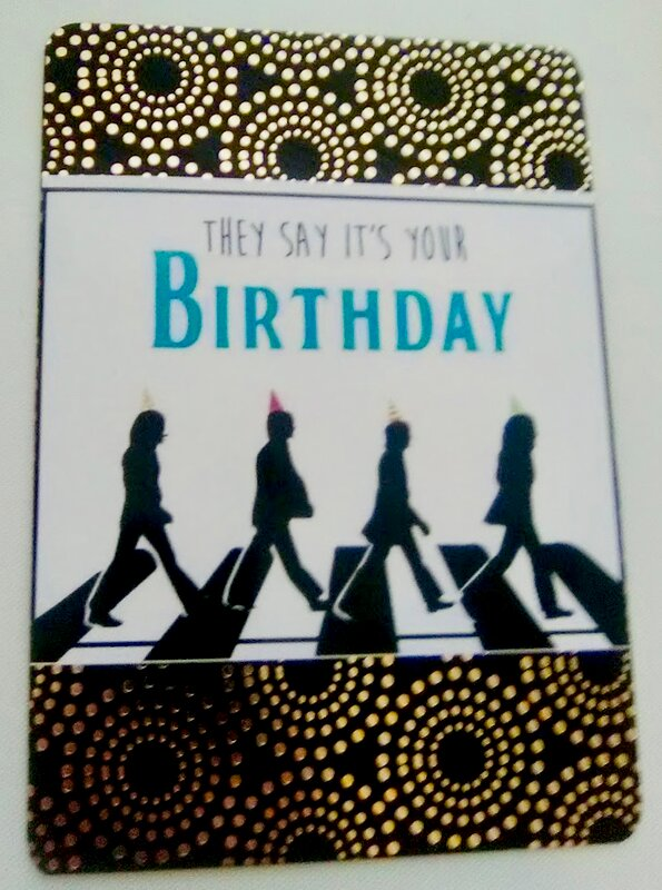 Simple bday card