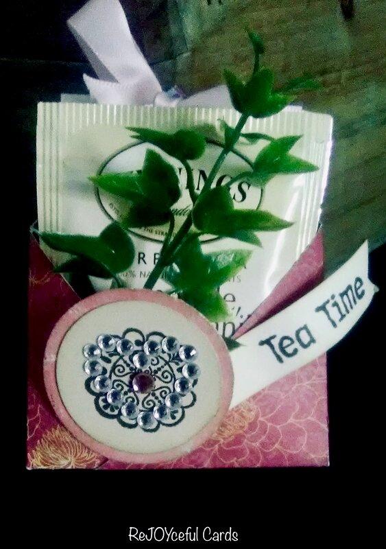 Teabag and Treat holder