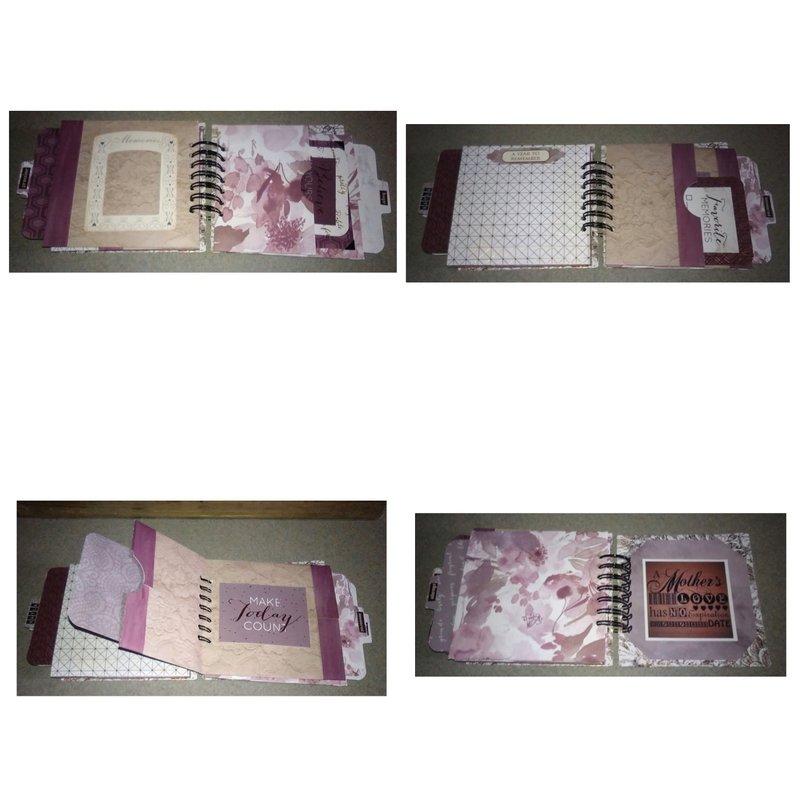 Part 3 of 3 handmade photo journal