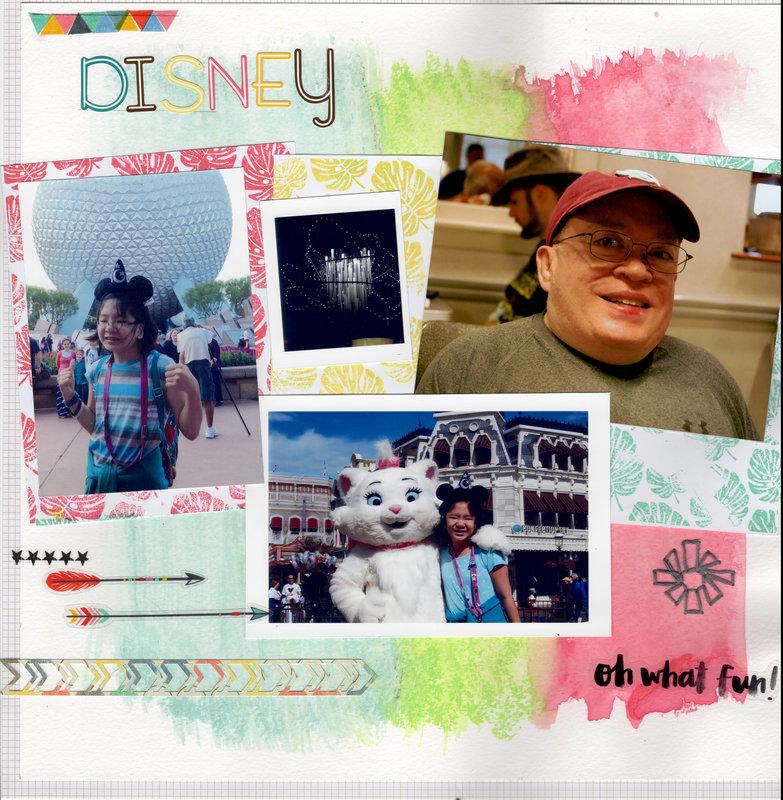 Disney Mixed Media