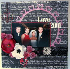 Love 2001 **Scraps of Darkness**