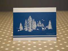 Winter Scene card