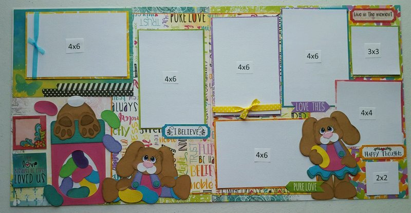 Easter 2 page layout
