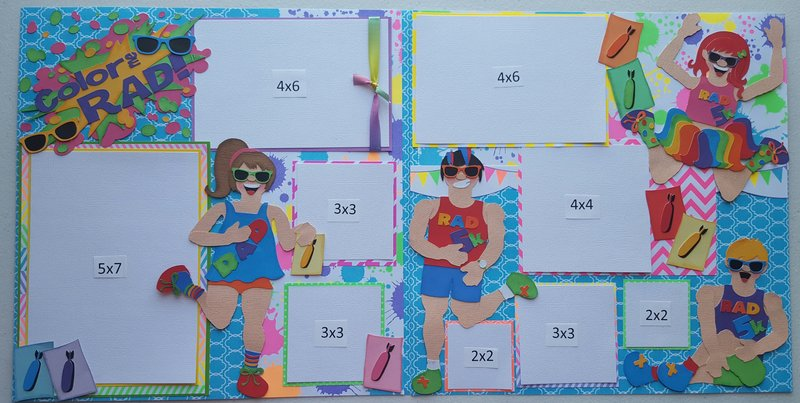Color me Rad 2 page Layout