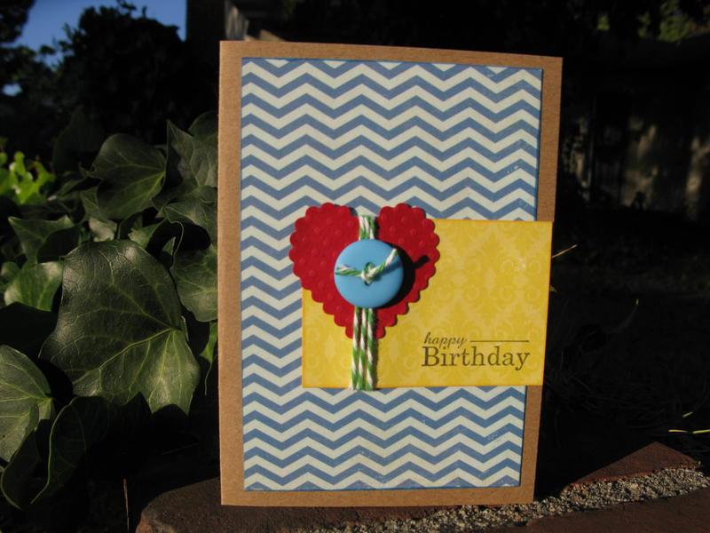 Happy Birthday - Chevrons