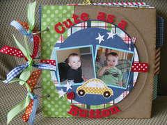 Baby boy Mini-Album (cover)