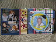 Baby Boy Mini-Album (Pgs. 4/5)