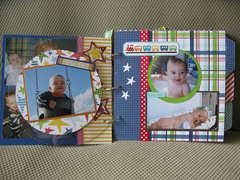 Baby Boy Mini Album (pages 6/7)