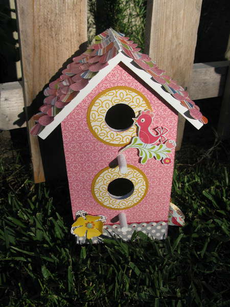 Altered Birdhouse (front)
