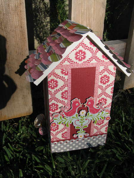 Altered Birdhouse (back side)
