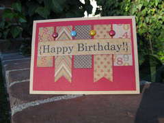 Kraft Happy Birthday Card