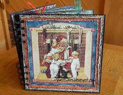 Graphic 45 Christmas Emporium Chipboard Album