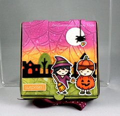 Halloween mini-pizza box