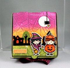 Halloween mini-pizza box