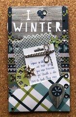 I Heart Winter - Back