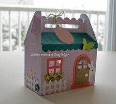 Easter Bunny House - Front