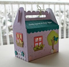 Easter Bunny House - Back