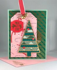 Tree Tag Cards - Pearl Ex Background Technique