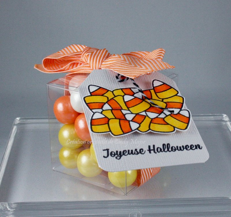Candy Corn-Inspired Treat Box