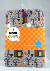 Pumpkin Party Treat Bag 1