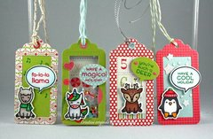Say What Christmas Tags