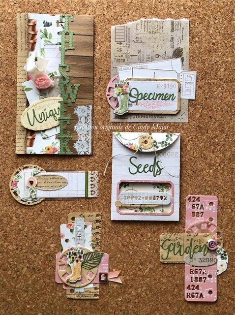 Spring Market Embellishment Set