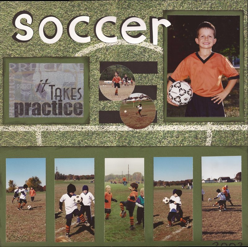 Soccer 2002 - multi-picture layout