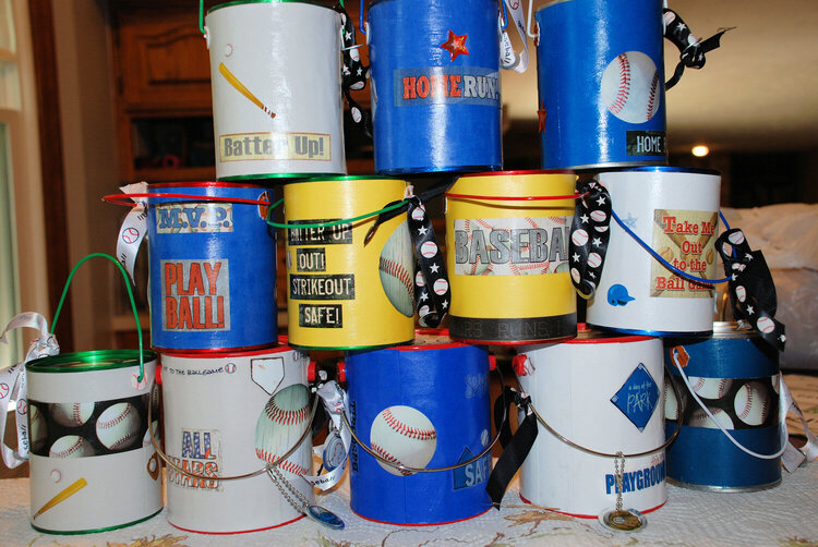 back of the paint cans