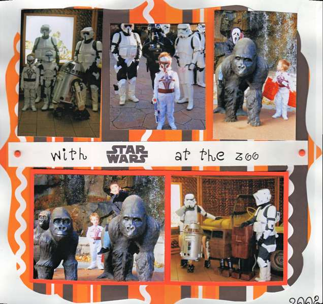 Trick & treat w/ star wars @ the zoo (right side)