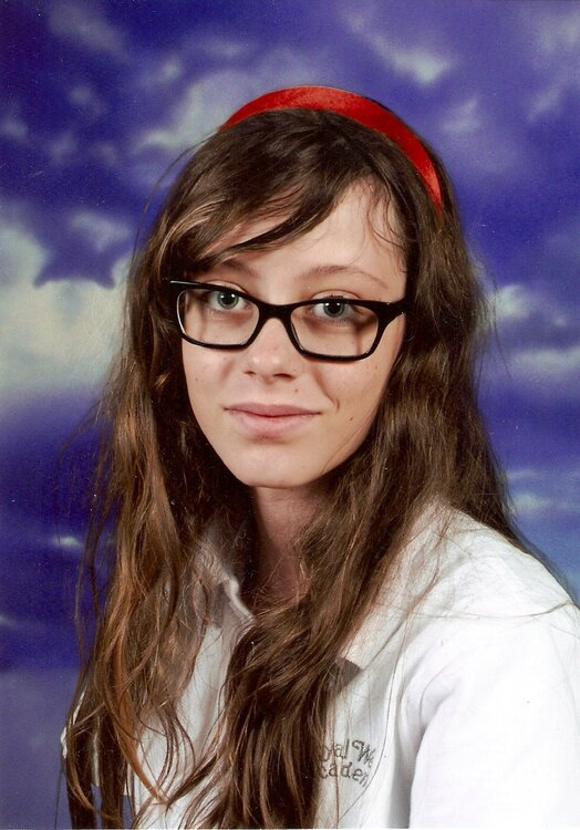 Annie's First High School Photo