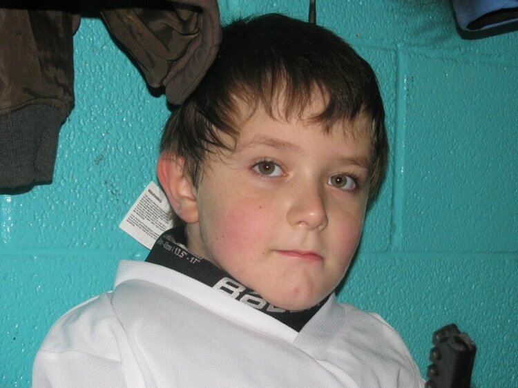 Liam after skating