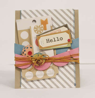 Studio Calico May Kit - 35MM - Hello card