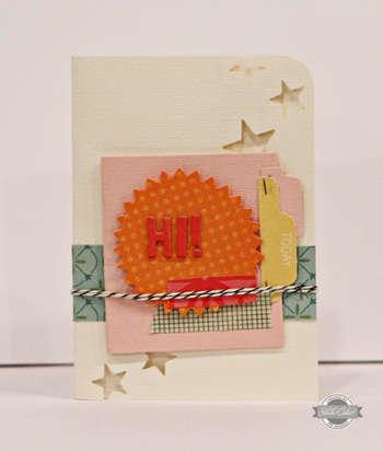 Studio Calico July Kit - Summer of '69 - Hi card