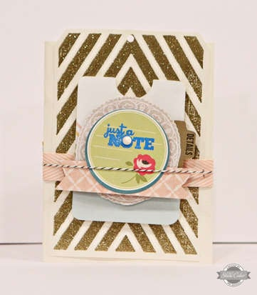 Studio Calico July Kit - Summer of '69 - Just a Note card