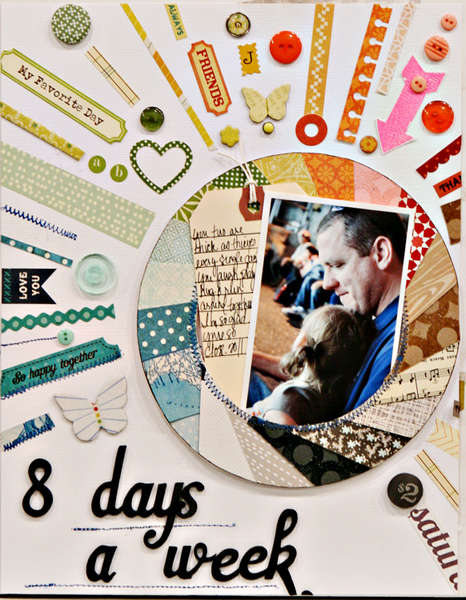 Studio Calico October Kit - Field Guide - 8 Days a Week