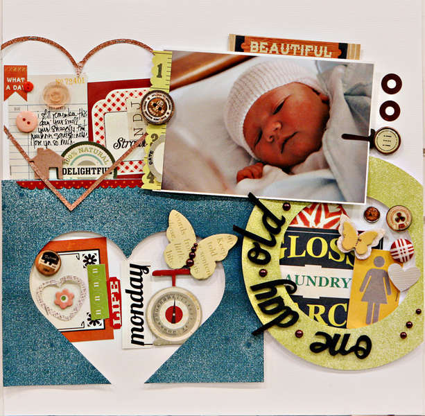 Studio Calico October Kit - Field Guide - One Day Old