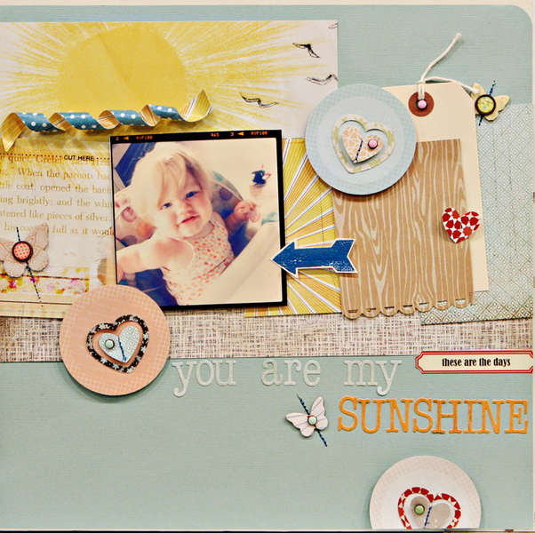 Studio Calico October Kit - Field Guide - You are my sunshine