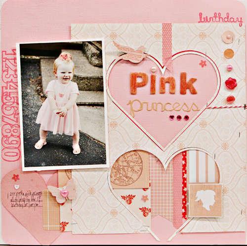 Studio Calico Blog Challenge - Pink Princess