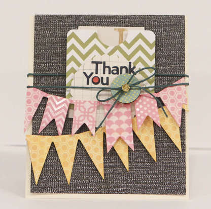 Studio Calico May Kit - 35 MM - Thank you card