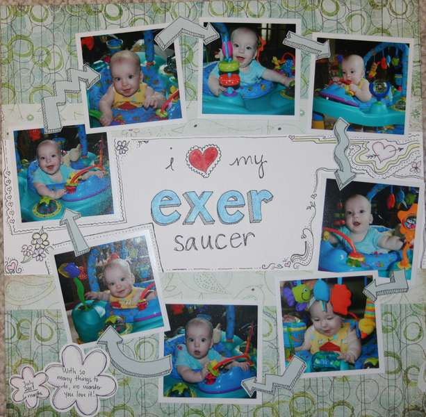 I (heart) my exersaucer