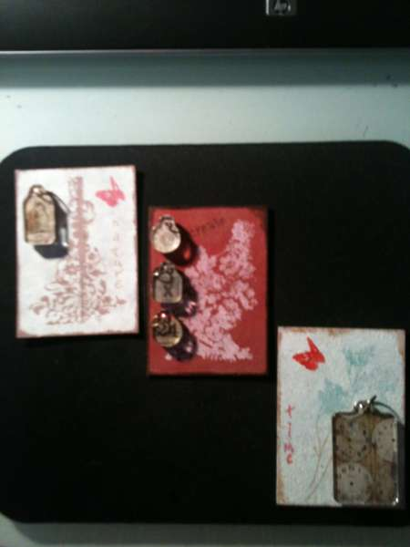 Tim Holtz Lovers ATC swap