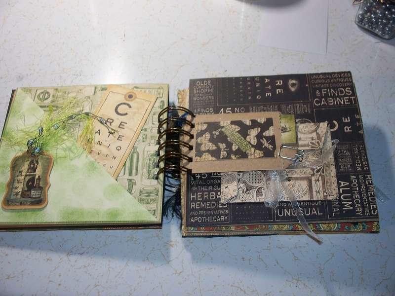 Altered Cigar Box & Mini Swap