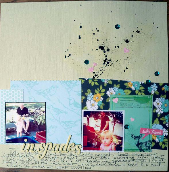 in spades *Cocoa Daisy November kit*