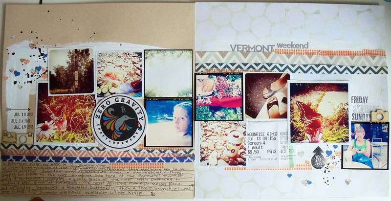 Vermont Weekend (full) *Cocoa Daisy August kit*