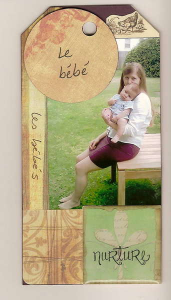 03 My Mother's 64th Birthday Tag Book